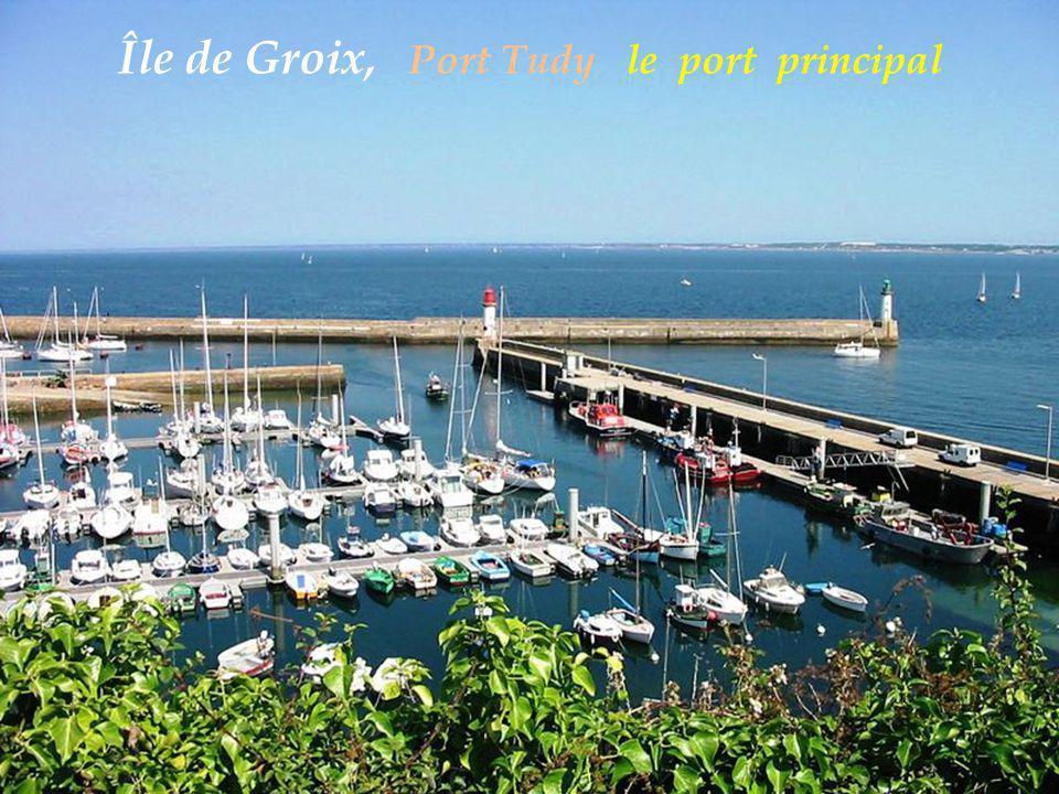 Île de Groix, Port Tudy le port principal