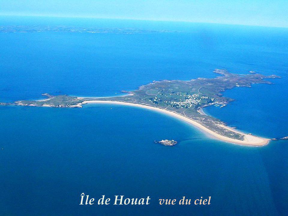 Île de Houat vue du ciel