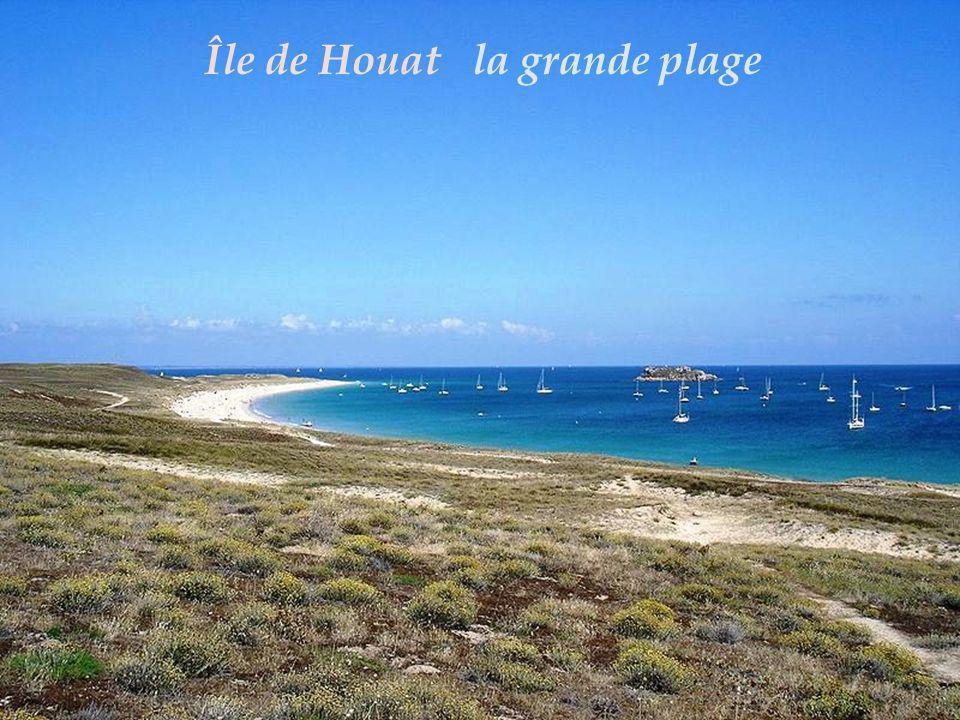 Île de Houat la grande plage