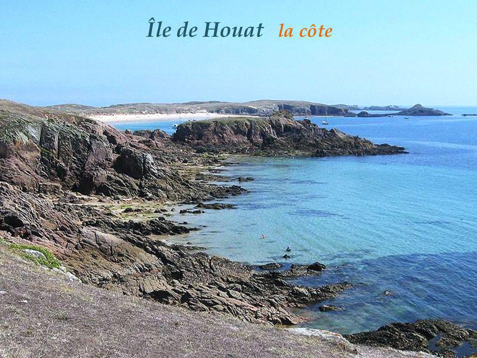 Île de Houat la côte