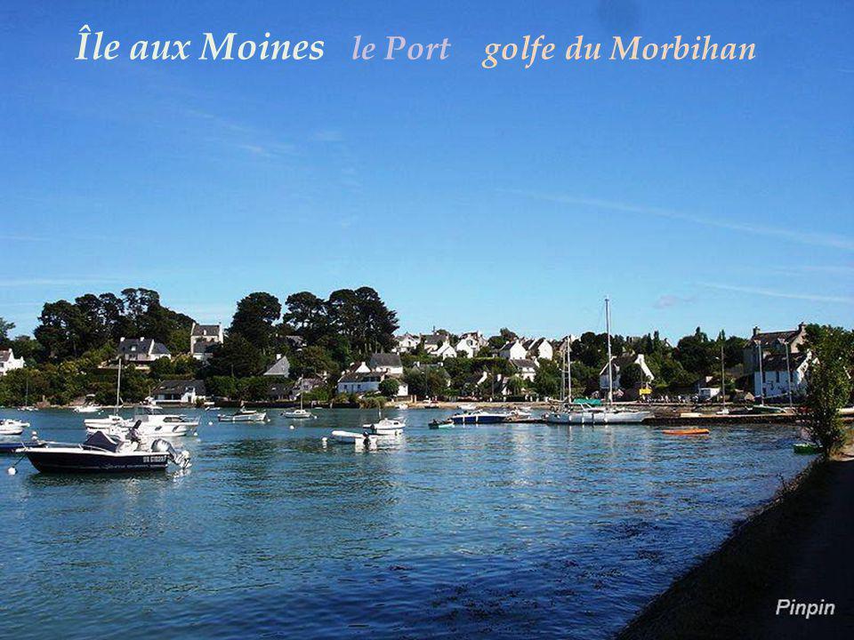 Île aux Moines le Port golfe du Morbihan