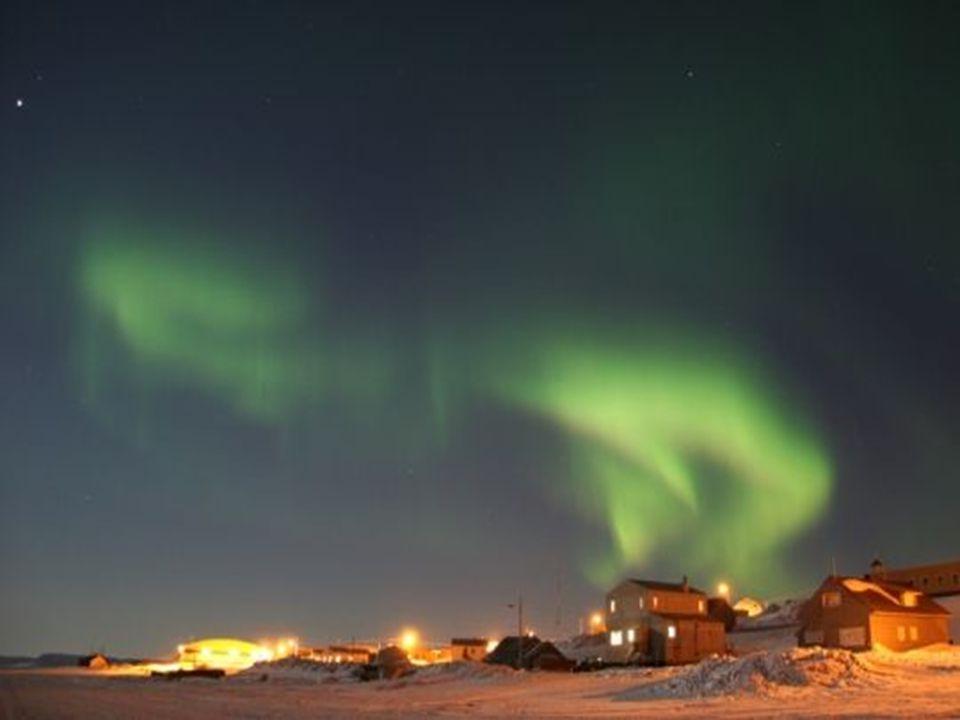 La lumière des Inuits – laurore boréale