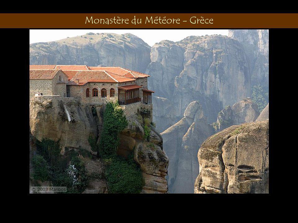 Monastère du Météore - Grèce