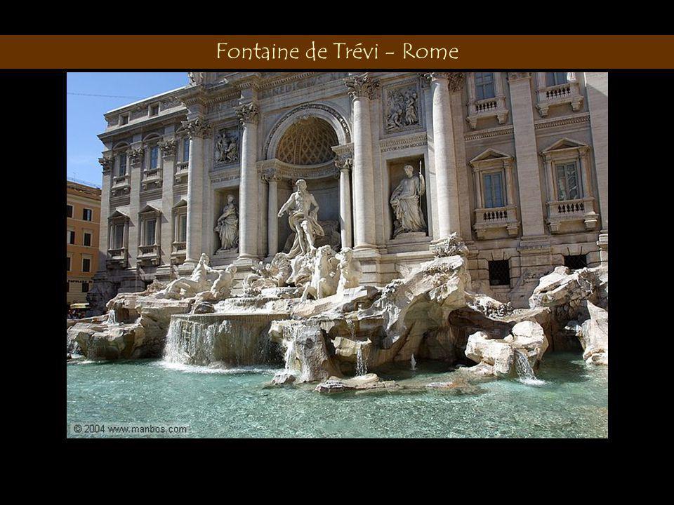 Fontaine de Trévi - Rome