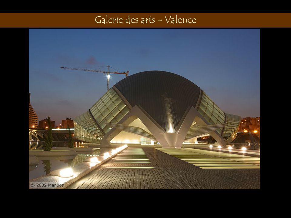 Galerie des arts - Valence