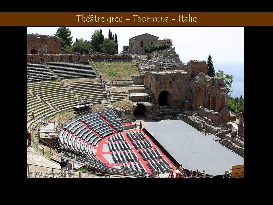 Théâtre grec – Taormina - Italie