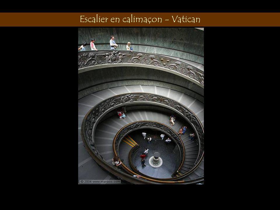 Escalier en calimaçon - Vatican