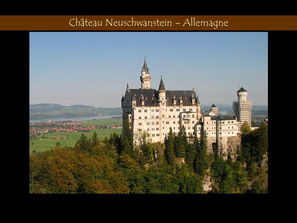 Château Neuschwanstein – Allemagne