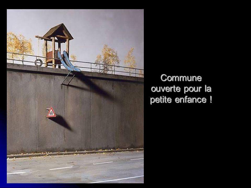 Commune ouverte pour la petite enfance !