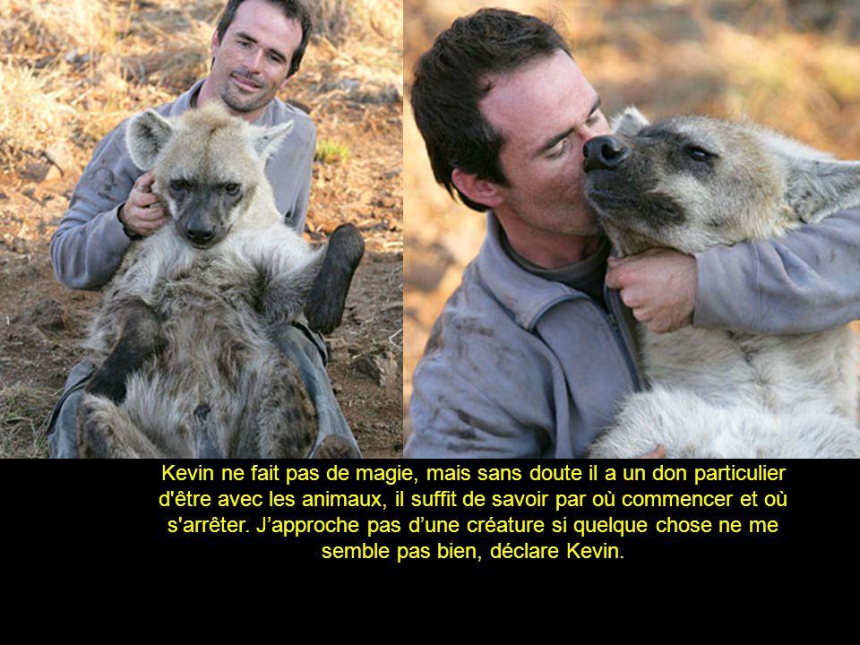 Kevin ne fait pas de magie, mais sans doute il a un don particulier d'être avec les animaux, il suffit de savoir par où commencer et où s'arrêter. Jap