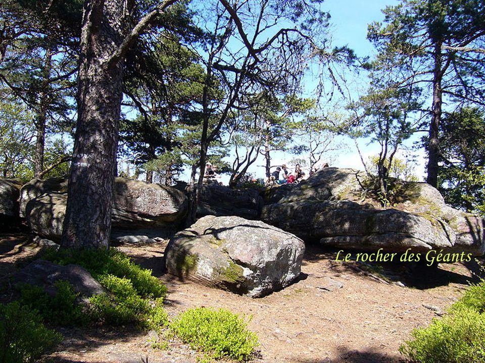 Le rocher des Géants