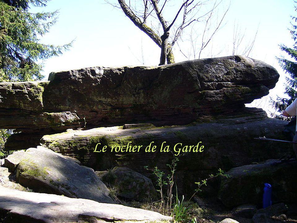 Le rocher de la Garde
