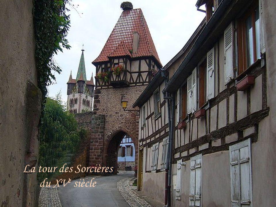 La tour des Sorcières du XV e siècle