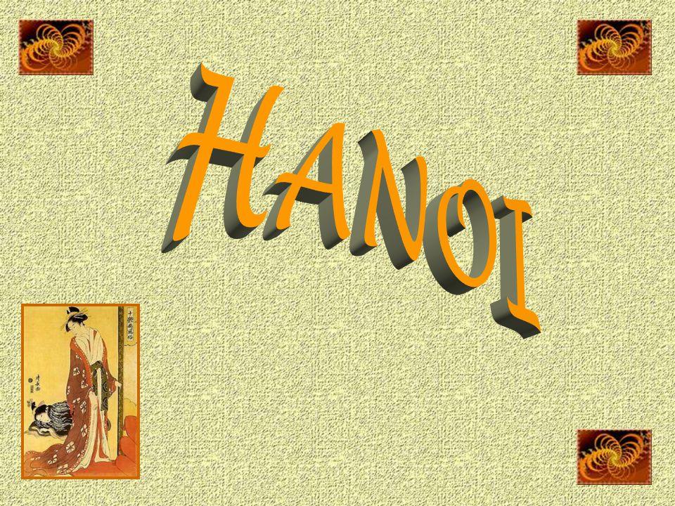Hanoï, en vietnamien Hà Nôi dont la signification est « La ville au-delà du fleuve ».
