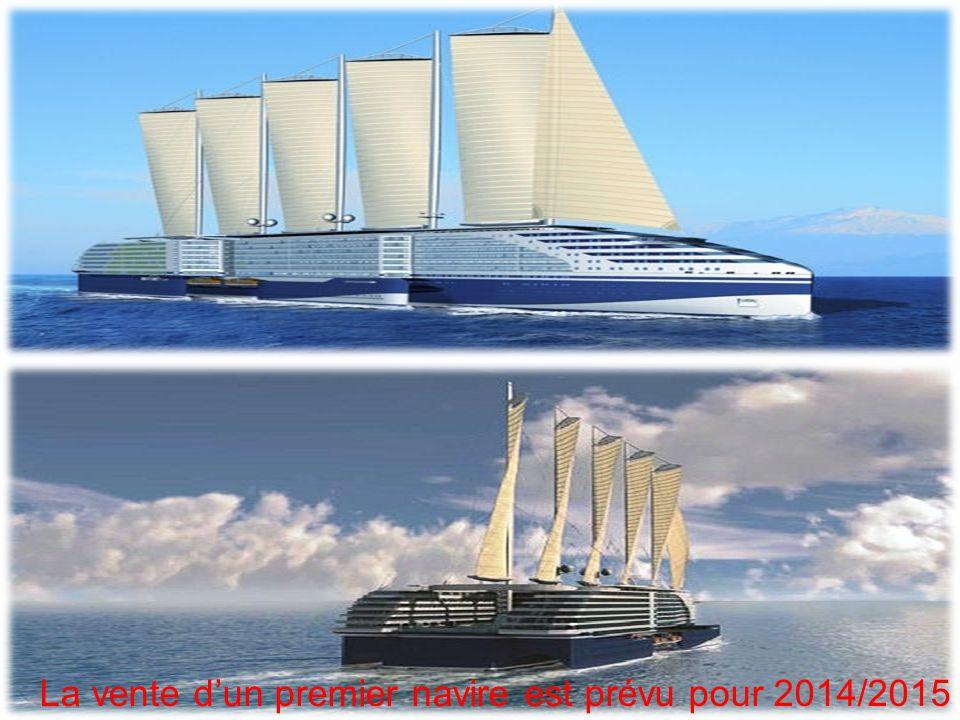 La vente dun premier navire est prévu pour 2014/2015
