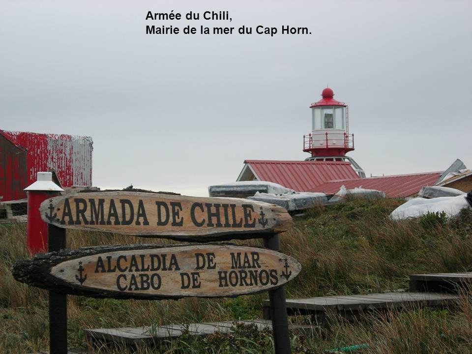 Armée du Chili, Mairie de la mer du Cap Horn.