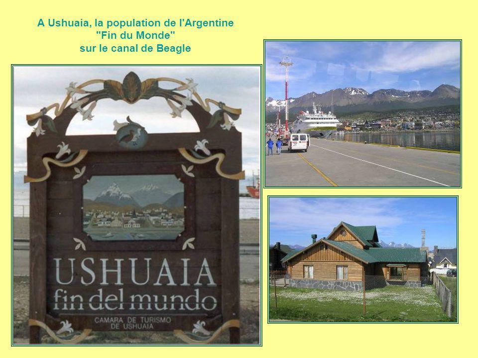 A Ushuaia, la population de l Argentine Fin du Monde sur le canal de Beagle