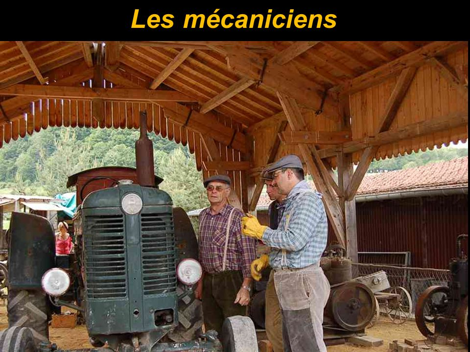 Les mécaniciens
