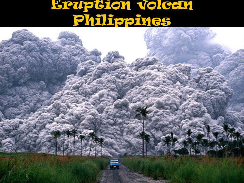 Eruption volcan Philippines