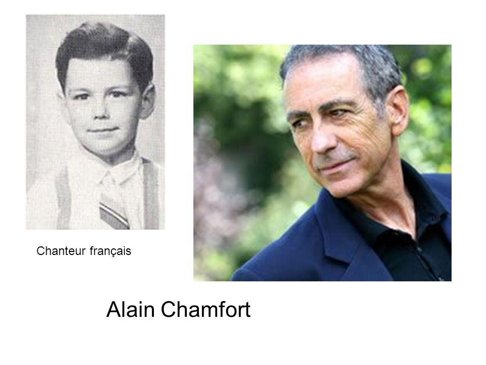 Alain Chamfort Chanteur français