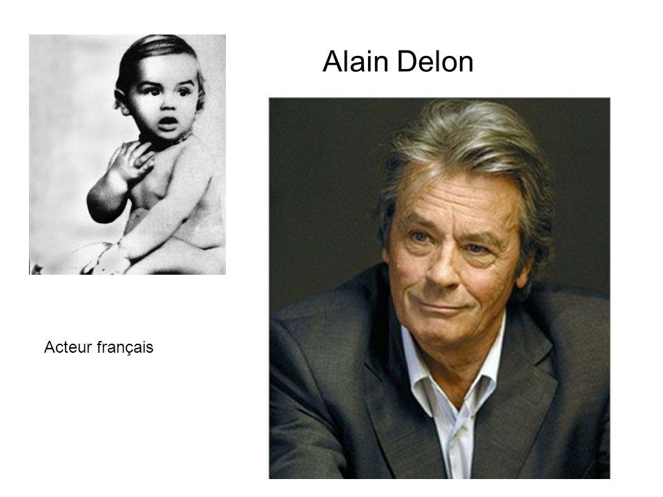 Alain Delon Acteur français