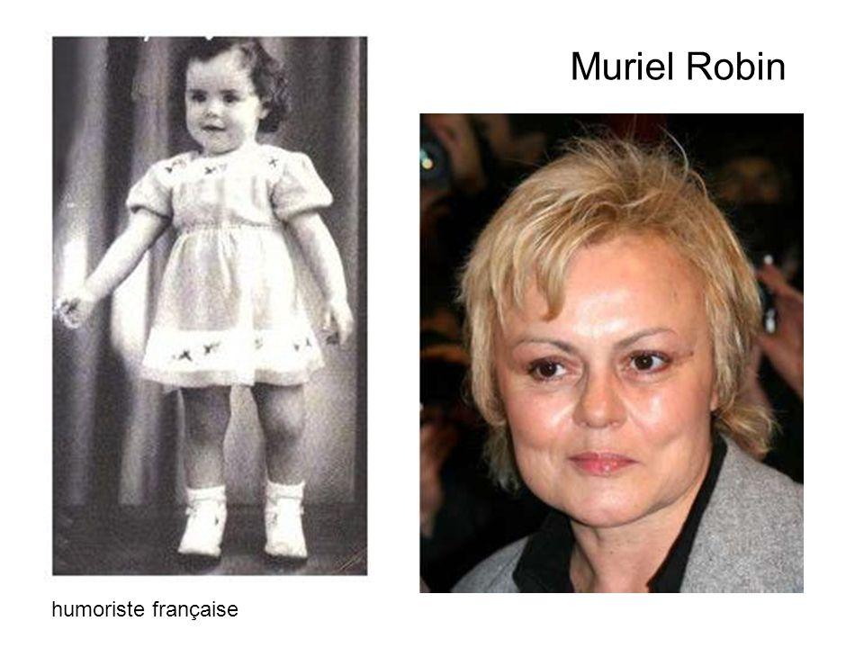 Muriel Robin humoriste française