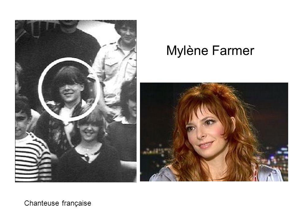Mylène Farmer Chanteuse française