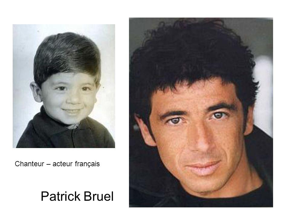 Patrick Bruel Chanteur – acteur français