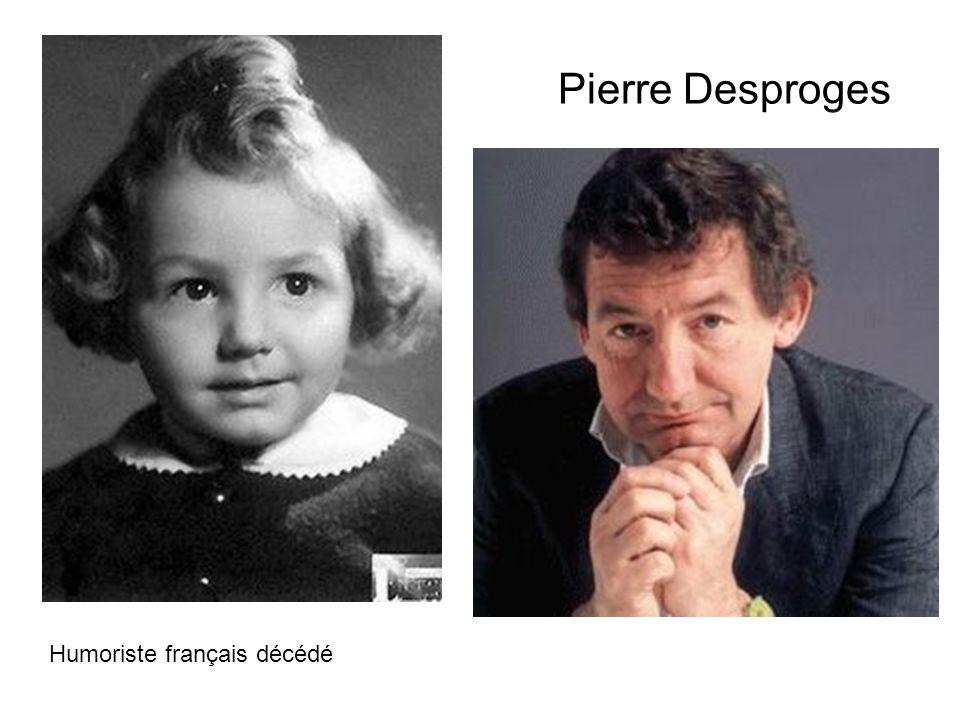 Pierre Desproges Humoriste français décédé