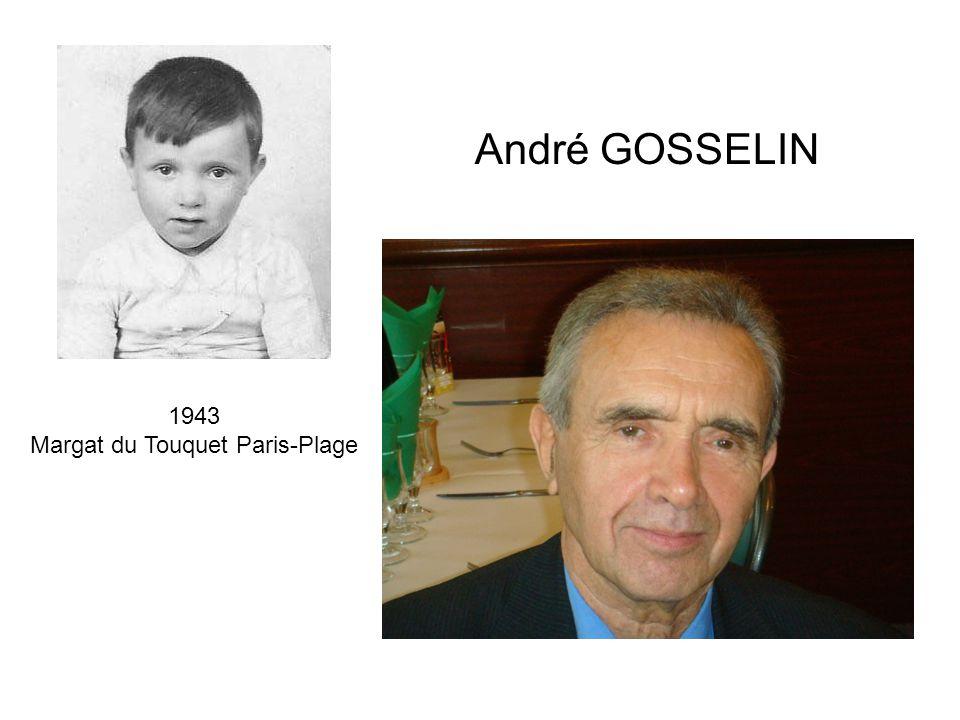 1943 Margat du Touquet Paris-Plage André GOSSELIN