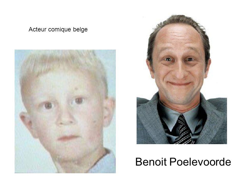Benoit Poelevoorde Acteur comique belge