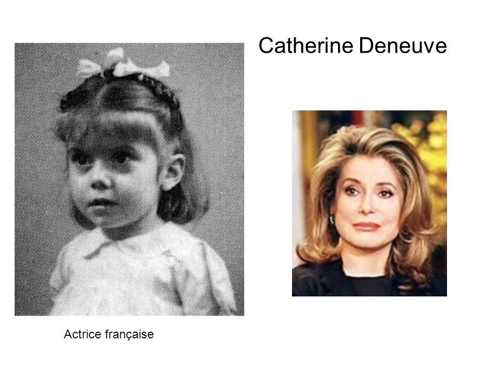 Catherine Deneuve Actrice française