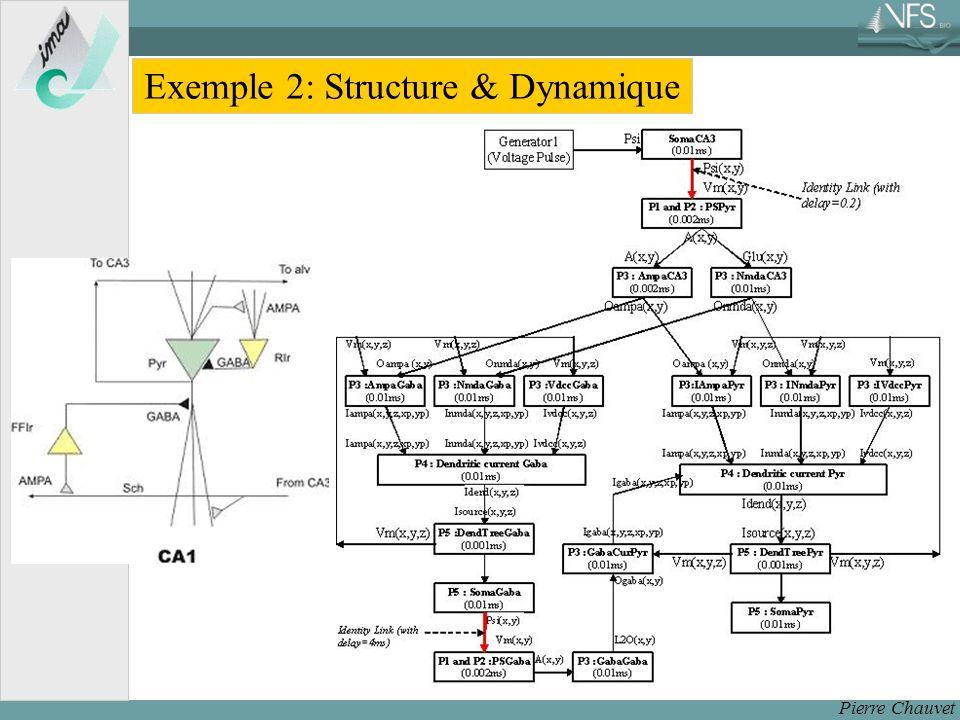 Pierre Chauvet Exemple 2: Structure & Dynamique