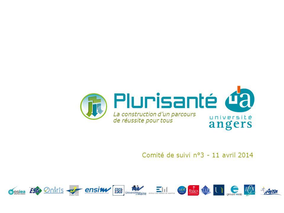 Comité de suivi n°3 - 11 avril 2014 La construction dun parcours de réussite pour tous