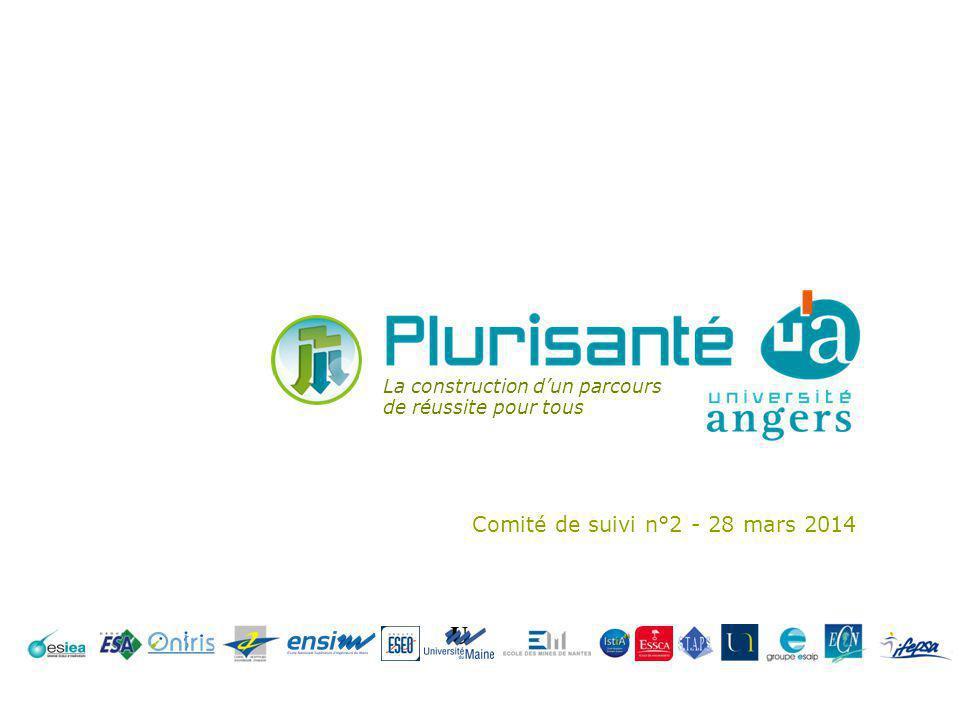 Comité de suivi n°2 - 28 mars 2014 La construction dun parcours de réussite pour tous