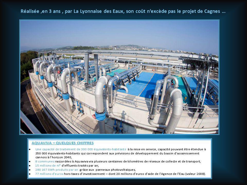 Et pourtant..: Voici Aquaviva,la première station carboneutre au monde, inaugurée dans le bassin cannois en Octobre 2012, et dont la première pierre a été posée le 1 er Octobre 2009 (donc 3 ans de travaux ) !
