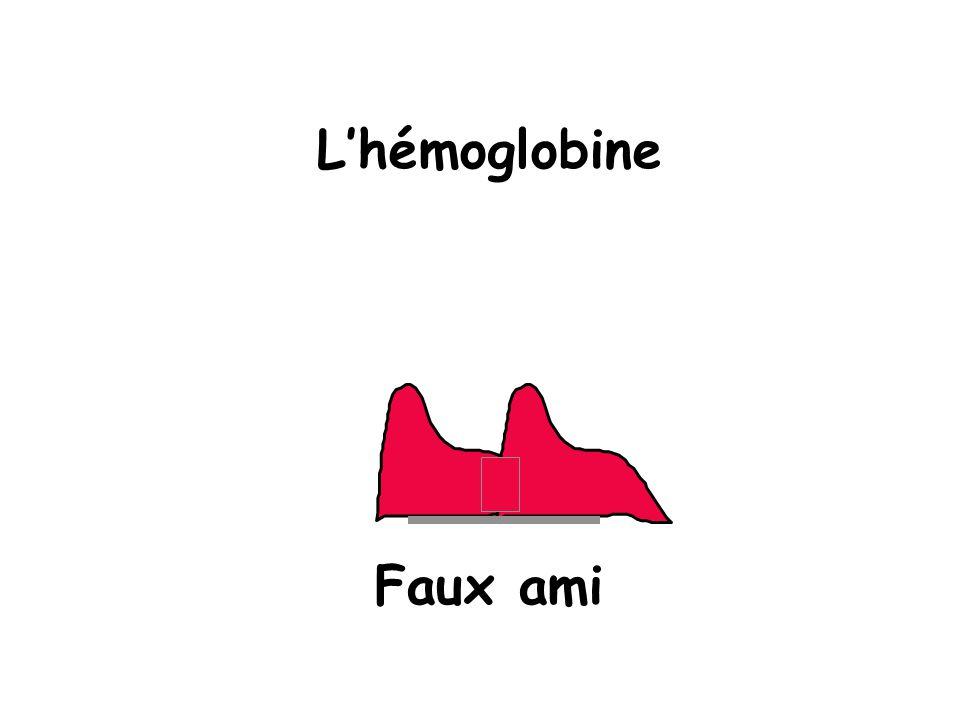Lhémoglobine Faux ami