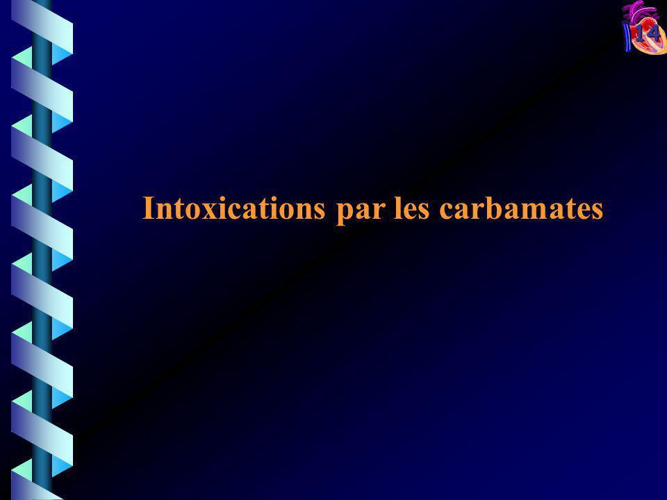14 Intoxications par les carbamates