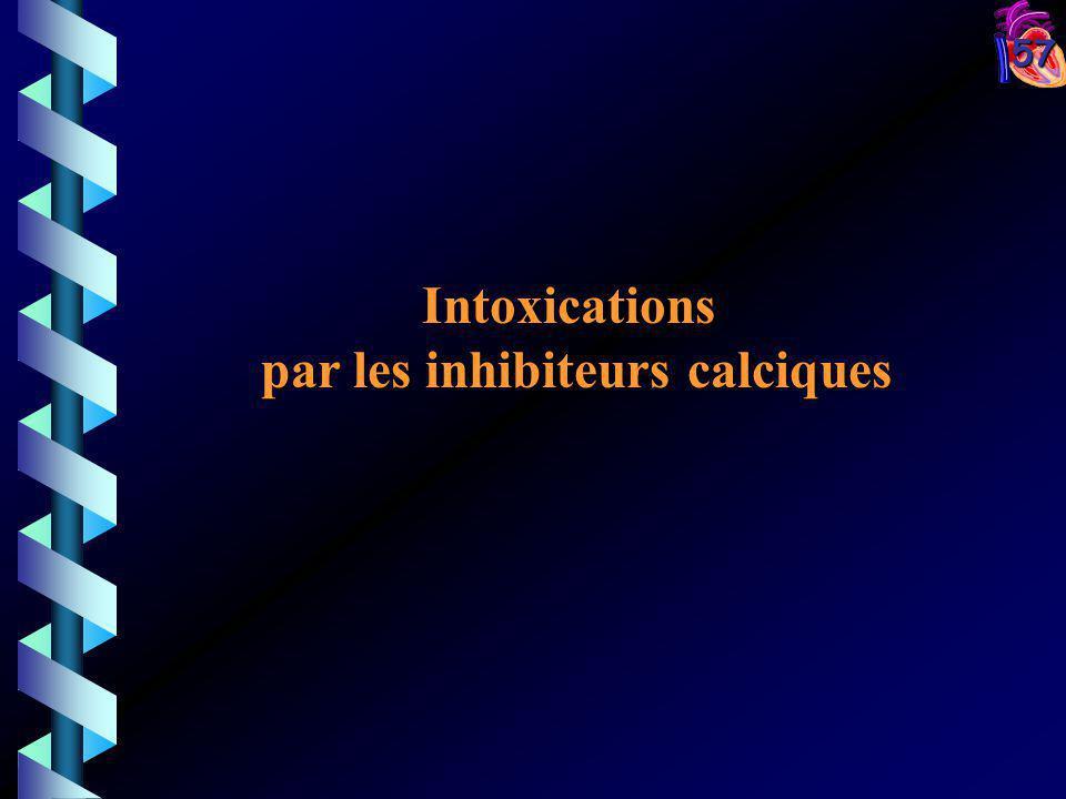 57 Intoxications par les inhibiteurs calciques