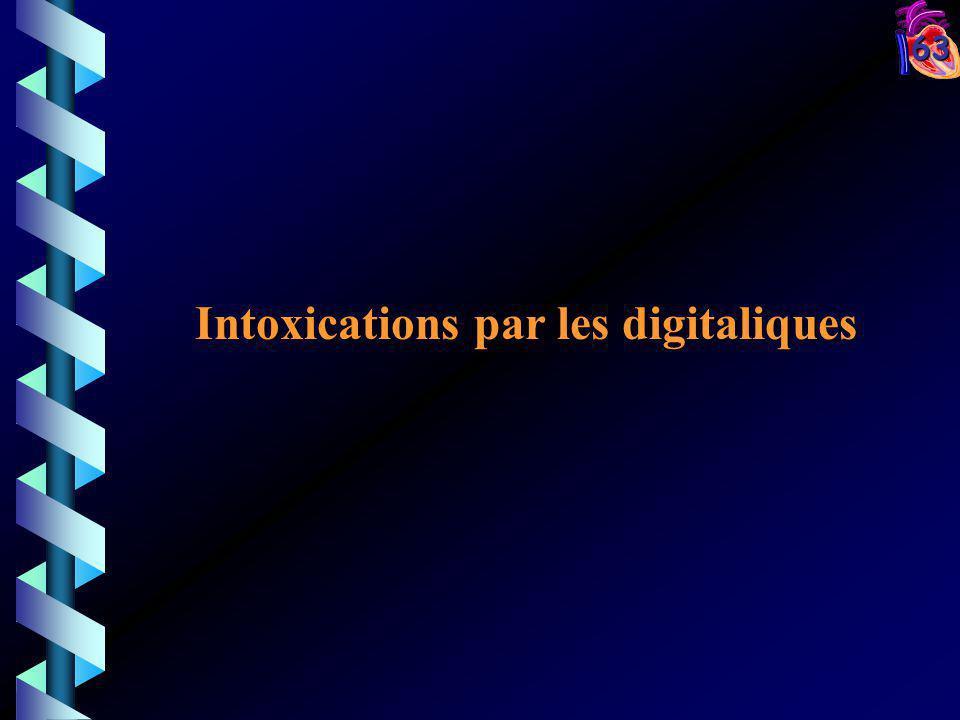 63 Intoxications par les digitaliques