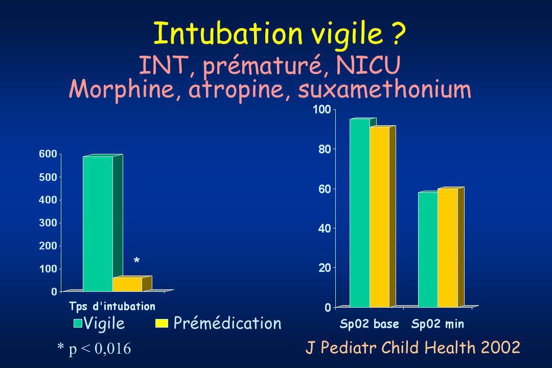 Intubation vigile .