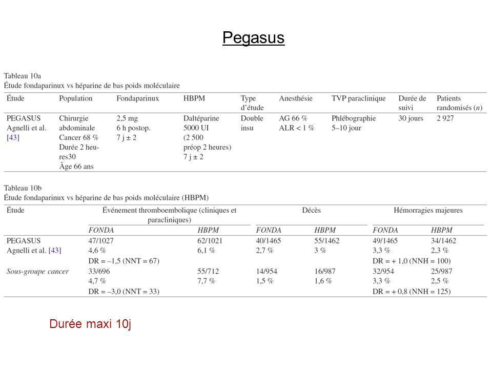 Pegasus Durée maxi 10j