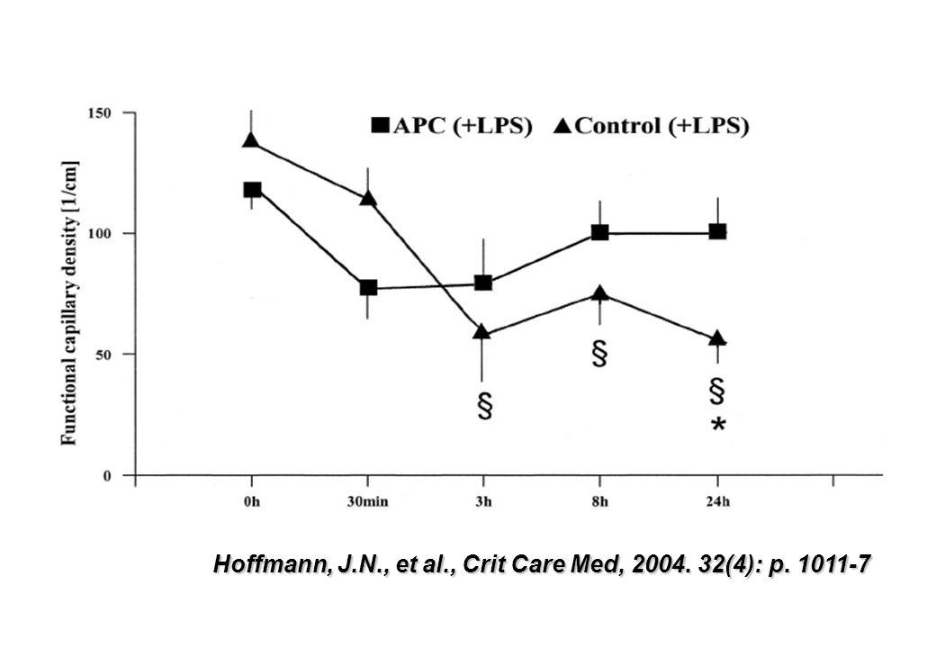 Hoffmann, J.N., et al., Crit Care Med, 2004. 32(4): p. 1011-7