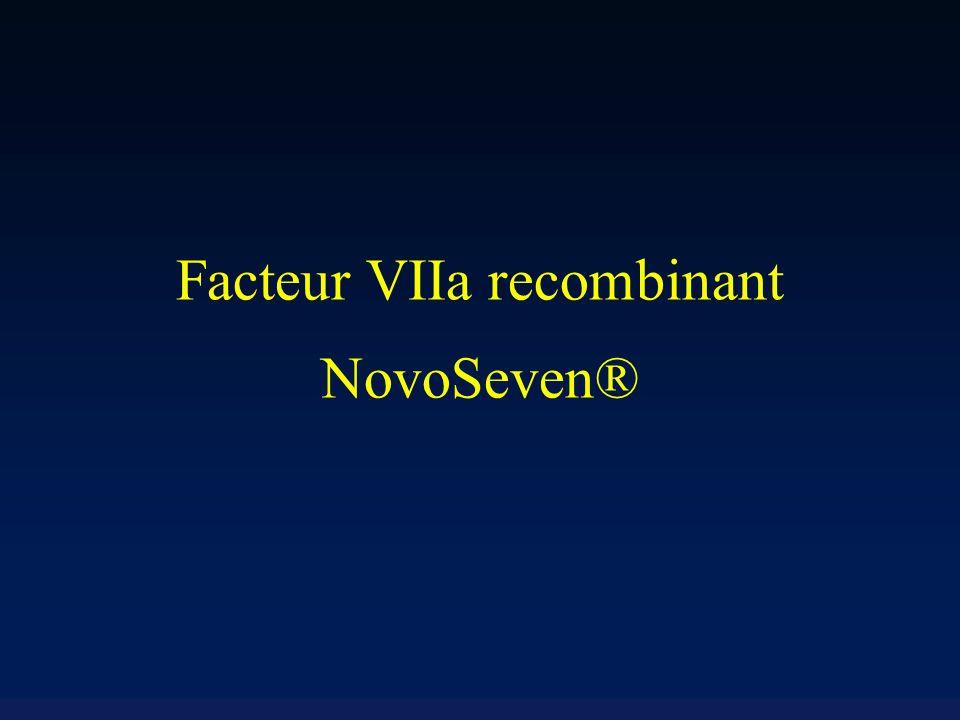 Facteur VIIa recombinant NovoSeven®