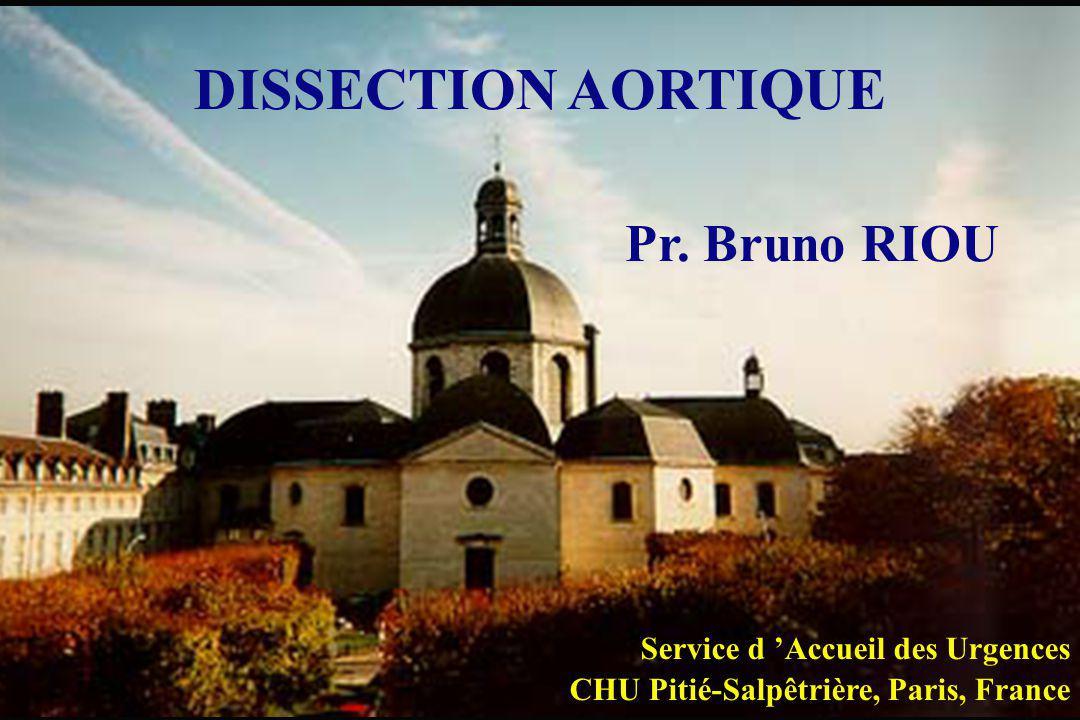 DISSECTION AORTIQUE Pr.