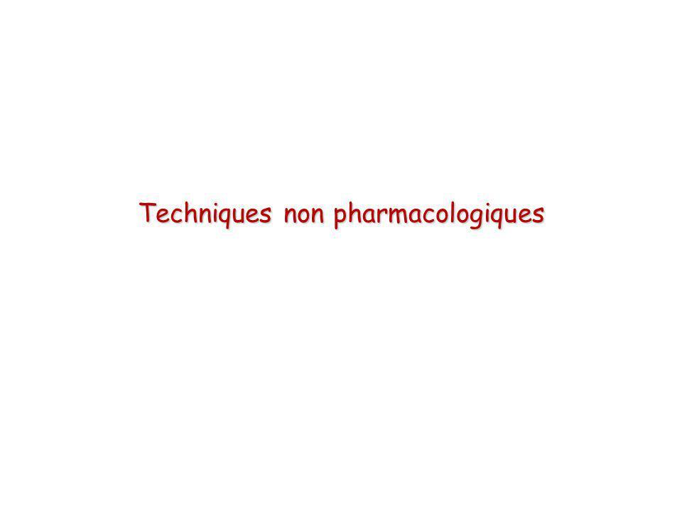 Lutte contre l hypothermieLutte contre l hypothermie Maintient de l hématocriteMaintient de l hématocrite Hypotension contrôléeHypotension contrôlée hémodilution aiguë normovolémique intentionnellehémodilution aiguë normovolémique intentionnelle ALR vs AGALR vs AG Techniques non pharmacologiques