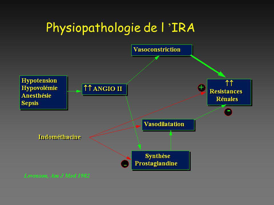 Physiopathologie de l IRA -