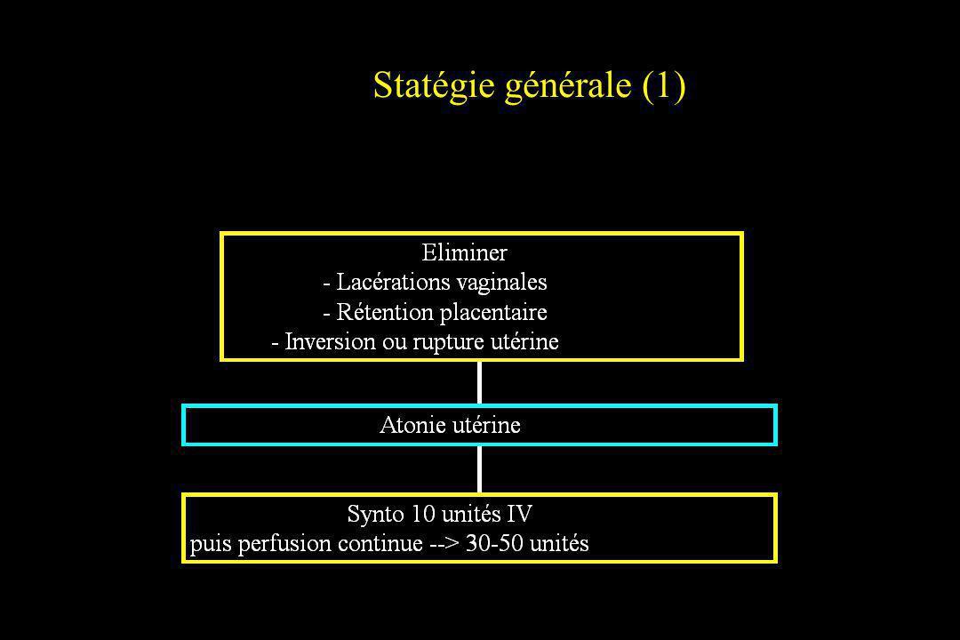 Stratégie générale (2)