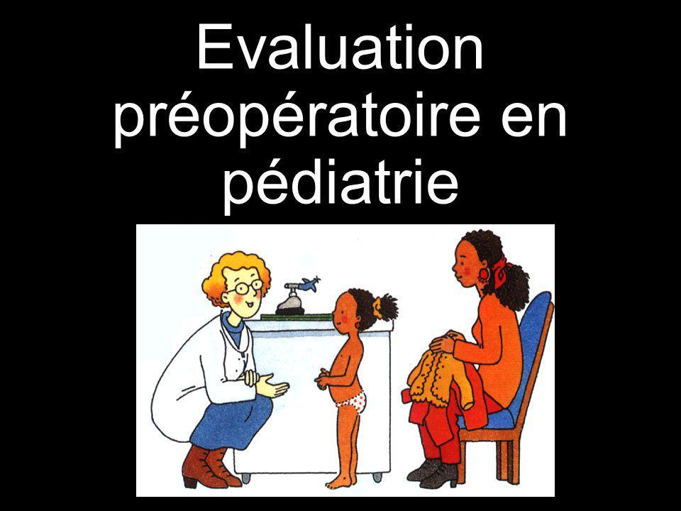 Lanesthésie pédiatrique Beaucoup dactes ambulatoires La majorité des enfants sont ASA 1-2 Tout doit être mis en œuvre pour que cette expérience ne laisse pas de souvenir désagréable à lenfant surtout sil sagit dune première anesthésie