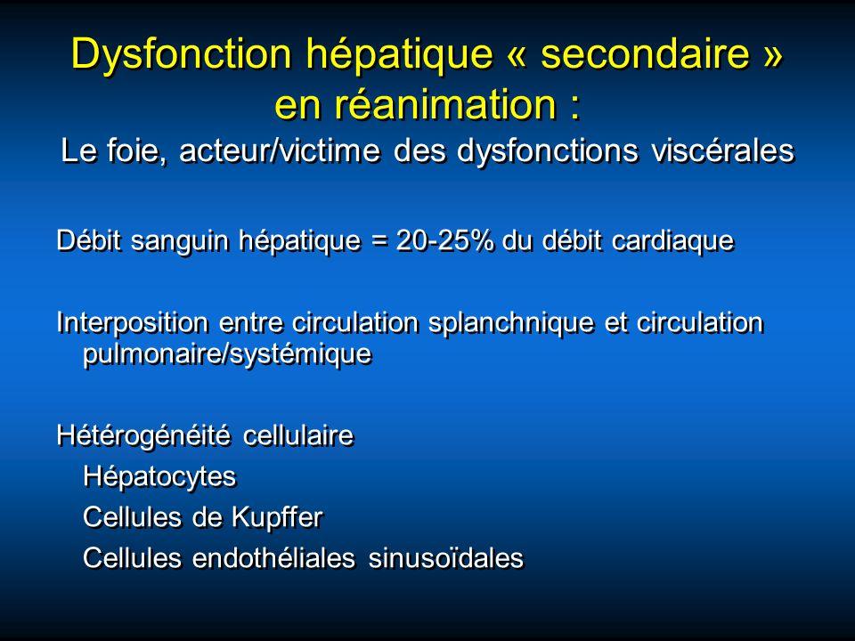 Débit sanguin hépatique = 20-25% du débit cardiaque Interposition entre circulation splanchnique et circulation pulmonaire/systémique Hétérogénéité ce